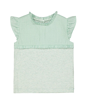 Mothercare Turquoise Pintuck Blouse