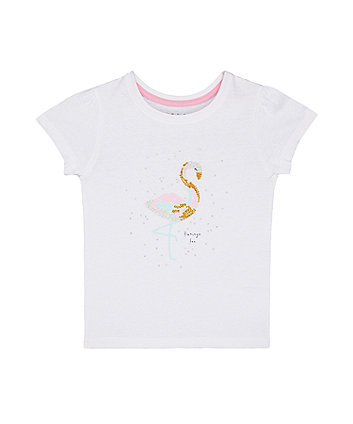 White Flamingo T-Shirt
