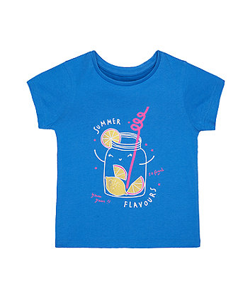 Blue Lemon Jar Summer Flavours T-Shirt
