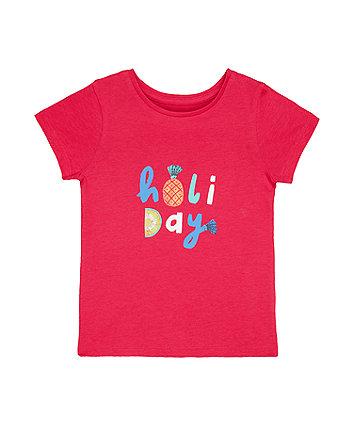 Pink Holiday T-Shirt