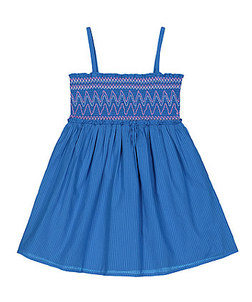 Blue Shearing Dress