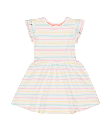 Mothercare Pastel Striped Dress