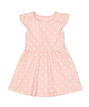 Mothercare Pink Spot Dress