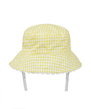 Yellow Gingham Fisherman