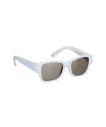 Mothercare Blue Striped Sunglasses