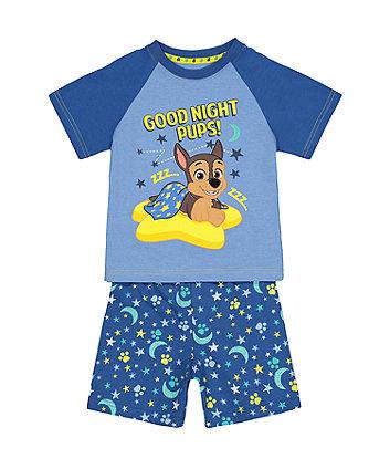 Paw Patrol Shortie Pyjamas