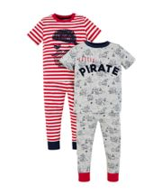 Pirate And Treasure Map Pyjamas - 2 Pack