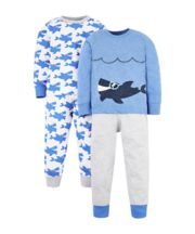 Shark Pyjamas - 2 Pack