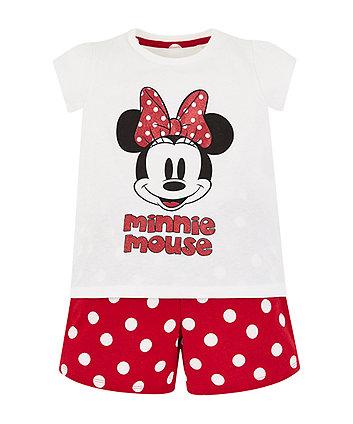 Disney Minnie Mouse Shortie Pyjamas