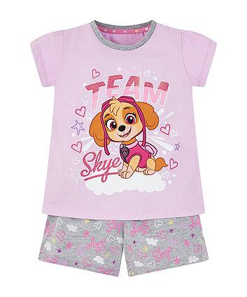 Paw Patrol Skye Shortie Pyjamas