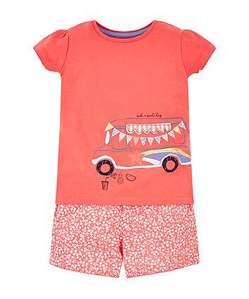 Camper Van Shortie Pyjamas