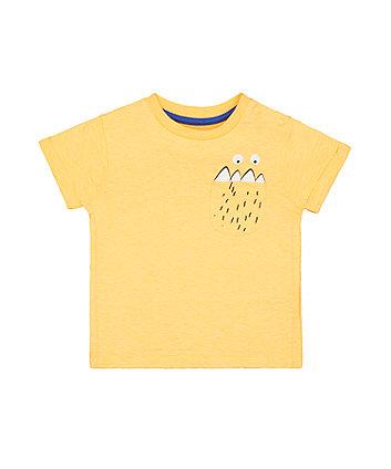 Mothercare Orange Monster T-Shirt