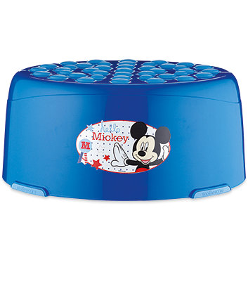 Disney mickey mouse step stool toilet steps mothercare - Mickey mouse stool ...