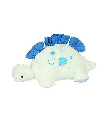 Mothercare Sleepysaurus Blue Dinosaur Plush
