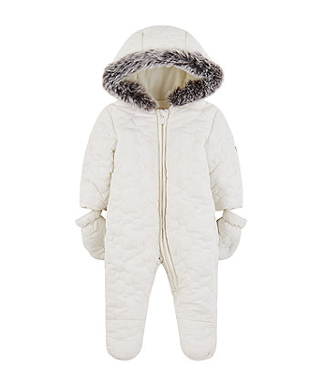 Mothercare My First Quilted Snowsuit