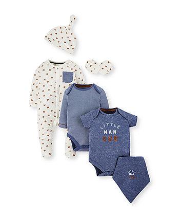 Mothercare Bear Six-Piece Set