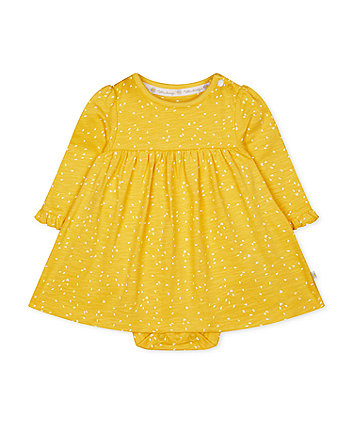 Mothercare Yellow Romper Dress