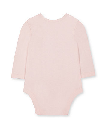 Mothercare My First Pink Little Mouse Bodysuit