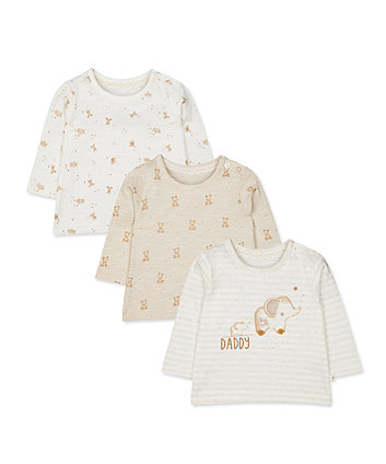 Mothercare My First Daddy Tops - 3 Pack