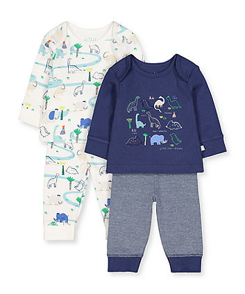 Mothercare Dino Friends Pyjamas - 2 Pack