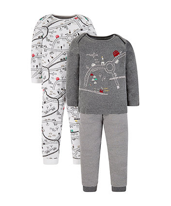 Mothercare Little City Pyjamas - 2 Pack