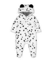Mothercare Dalmatian Fluffy All In One