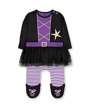 Mothercare Halloween Witch Tutu All In One