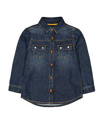 Mothercare Denim Shirt