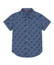 Mothercare Blue Dinosaur Shirt