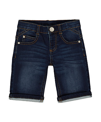 Mothercare Mid-Wash Denim Shorts
