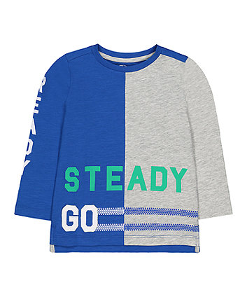 Mothercare Ready, Steady, Go T-Shirt