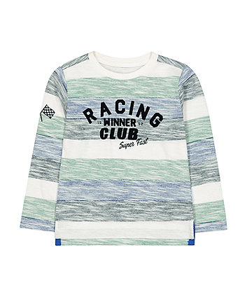 Mothercare Stripe Racing Club Winner T-Shirt