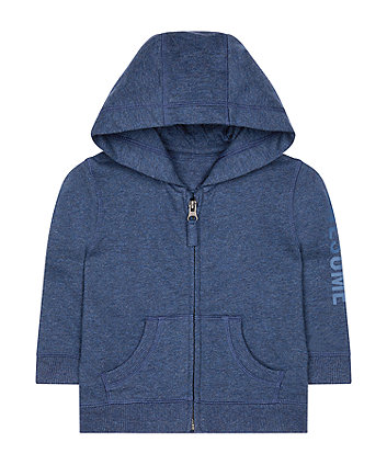 Mothercare Navy Awesome Hoodie