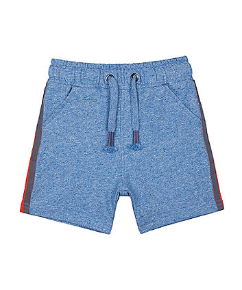 Mothercare Blue Side Stripe Shorts