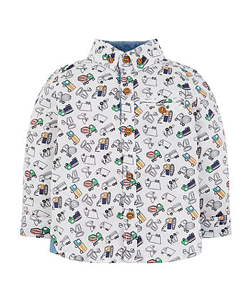 Mothercare Multicolour Vehicle Shirt