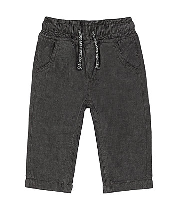 Mothercare Grey Cord Joggers