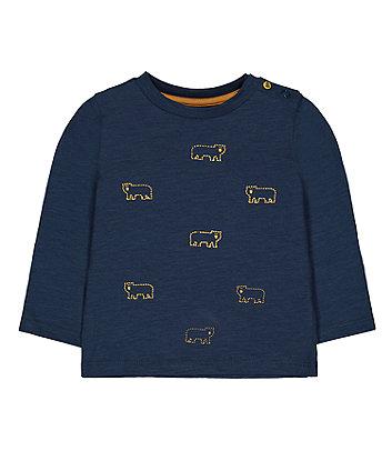 Teal Bear T-Shirt