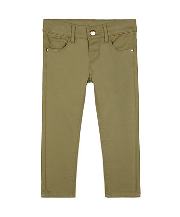 Mothercare Khaki Green Trousers