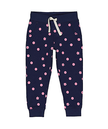 Mothercare Navy Cat Joggers