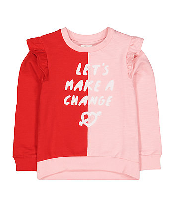 Mothercare Make A Change Frilled Top