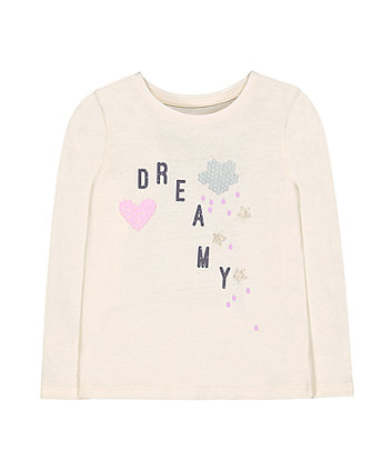 Mothercare Cream Dreamy T-Shirt