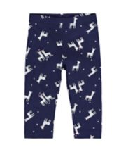 Mothercare Navy Llama Leggings