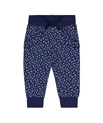 Mothercare Ditsy Frilled Joggers