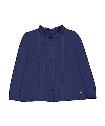 Mothercare Navy Pleats T-Shirt