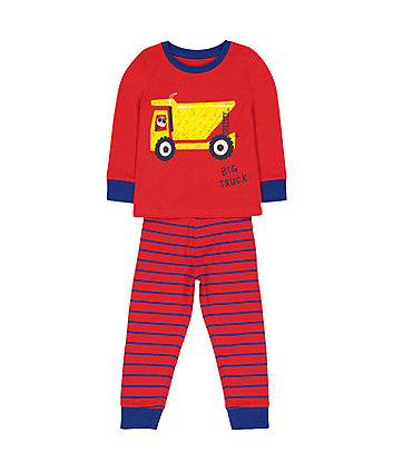 Mothercare Big Truck Pyjamas