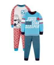 Football Pyjamas - 2 Pack