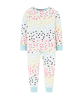 Mothercare Multicolour Spot Pyjamas