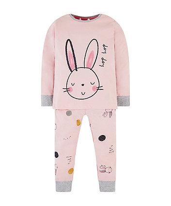 Mothercare Pink Bunny Pyjamas