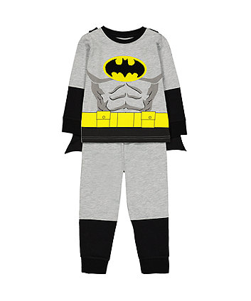 Mothercare Dc Comics Batman Dress-Up Pyjamas