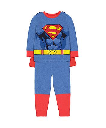 Mothercare Dc Comics Superman Dress-Up Pyjamas